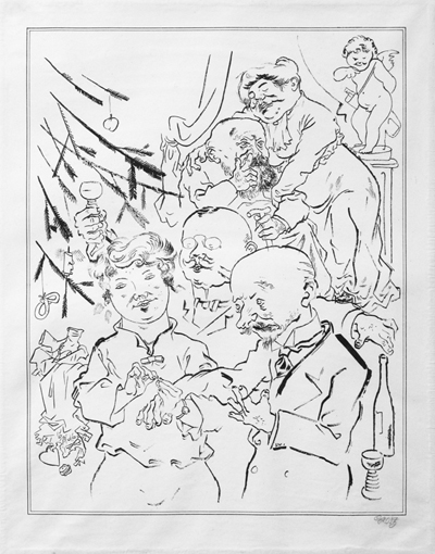 Verlobung unterm weihnachtsbaum alfred flechtheim for Minimal art eine kritische retrospektive